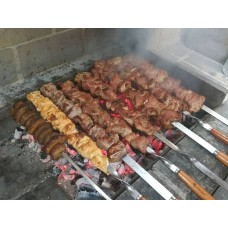 Микс шашлыка 4 вида мяса 1,5кг