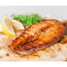 Стейк из лосося 100гр