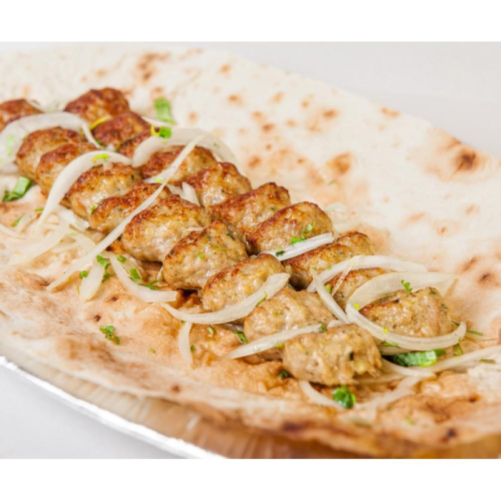 Куриный люля-кебаб с сыром сулугуни 100гр