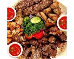 Праздничный Микс - шашлык, хачапури (2,5кг на 6-8 человек)