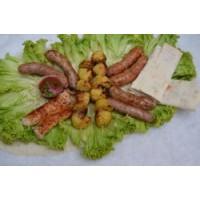Домашние колбаски гриль
