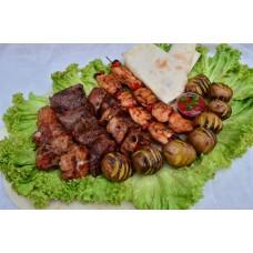 Микс шашлыка из свинины 1,5кг