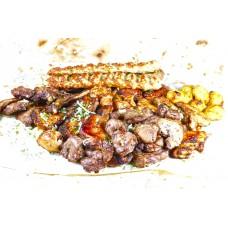 Микс шашлыка и кебаба Халяль от Шефа 1,5кг