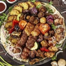 Свадебный набор шашлыка и блюд на мангале (для 20 человек)