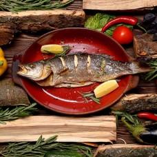 Одесса-Мама - рыбный шашлык на троих!