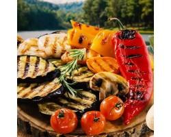 Овощной мангал - фитнес микс овощей и грибов гриль (на 4-6 человек)